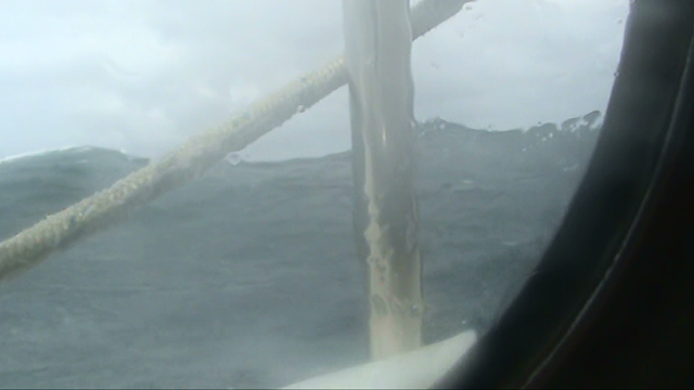 Heavy weather in the North Sea