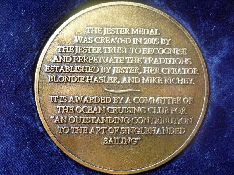 The Jester Medal
